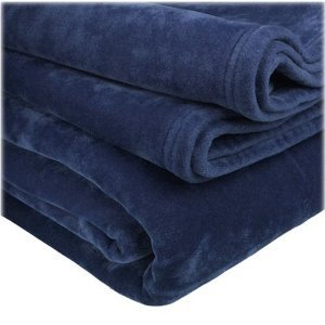 Martex vellux blanket new navy queen home for Vellux blanket