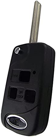 NEW REMOTE KEY COVER TO FIT MANY LEXUS MODELS ES300 GS400 430 LX470 IS300  GREY