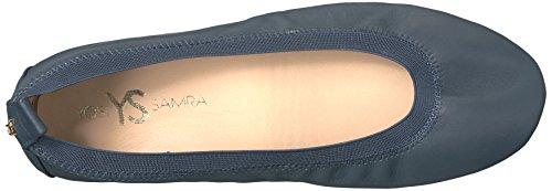 Samra 2 Samara Ballet 425 Yosi Deep Women's 0 Flat Navy Fdqwd6f