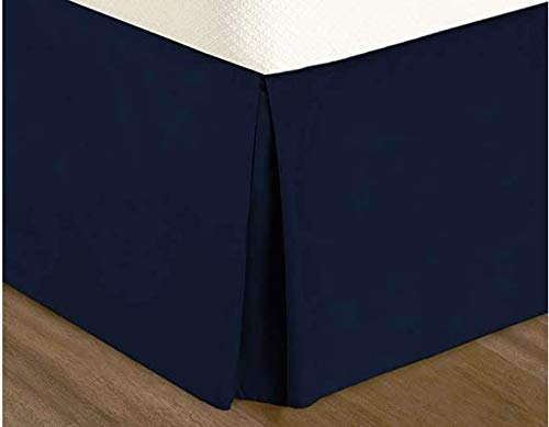 ComfortLife Premium Ultra Soft Luxury Microfiber Pleated Bed Skirt with 15