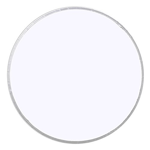Yibuy 8 Inch Resin and Aluminum White Single Ply Musical Percussion Accessories Drum Head Drum Skin