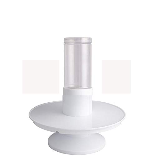 Rotating Cake Stand,PanDaDa 2 in1 Surprise Birthday Cake Stand Spray Station Musical Cake Stand Happy Birthday Cake Holder Birthday Gift Musical