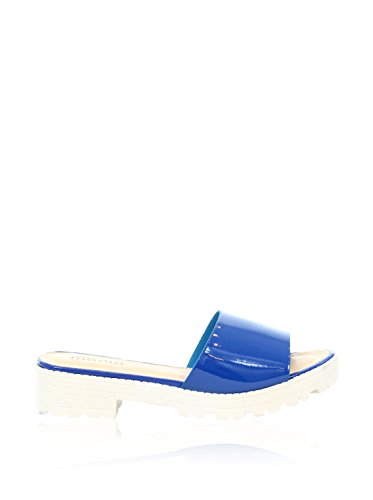 MOOW Sandalias planas  Azul EU 40