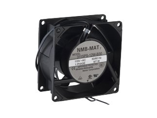 NMB TECHNOLOGIES 3115PS-12W-B30-A00 80 x 38 mm 115 VAC 3200 RPM 32 CFM 38 dB Ball Bearing AC Axial Fan - 1 item(s)