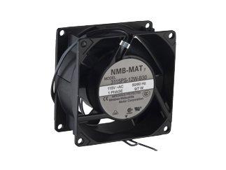 NMB TECHNOLOGIES 3115PS-12W-B30-A00 80 x 38 mm 115 VAC 3200 RPM 32 CFM 38 dB Ball Bearing AC Axial Fan - 1 item(s)