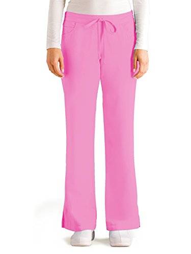 Grey's Anatomy 4232 Tie Front Pant Lilac Pearl S (Lilac Fashion)