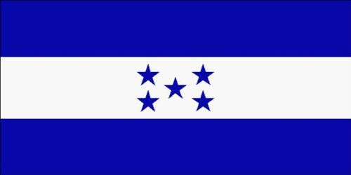 SoCal Flags® Brand Honduras Flag 3x5 Foot Polyester Flag -