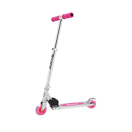 Razor A Lighted Wheel Kick Scooter – Pink
