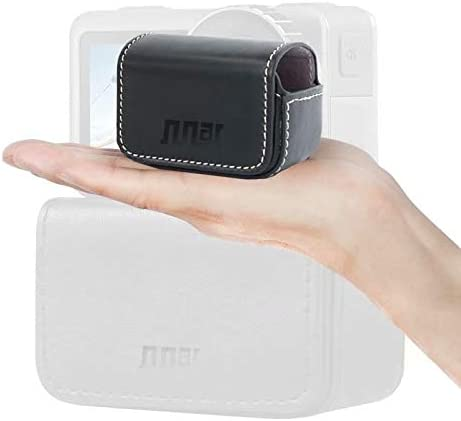 CAOMING Waterproof Mini Leather Case Storage Carrying Box for DJI New Action//GoPro//SJCAM//Xiaomi Mi Jia Durable Color : Black