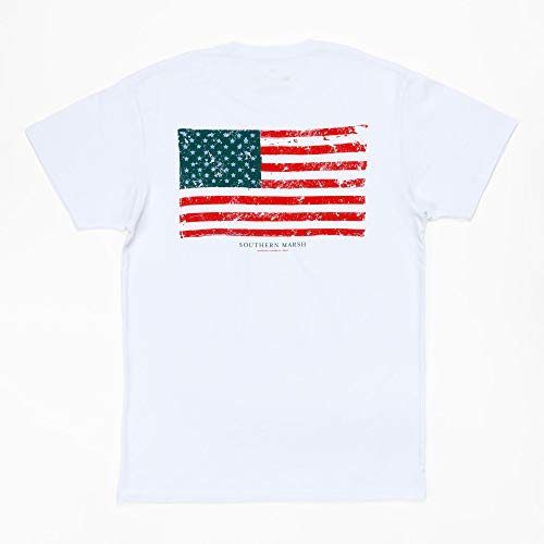 Vintage Flag, White, Small ()