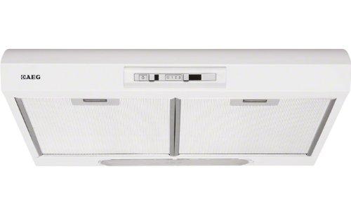 AEG DU4161-W Unterbauhaube / E / Breite: 59.9 cm / weiß / Halogenlampe / 3 Leistungsstufen