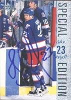 Special Autographed Card Edition (Igor Korolev Winnipeg Jets 1995 Upper Deck Special Edition Autographed Card. This item comes with a certificate of authenticity from Autograph-Sports. Autographed)