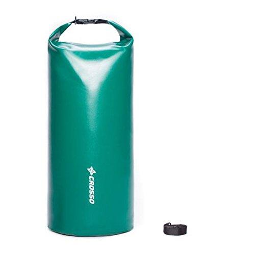 CROSSO Transportbeutel für den Gepäckträger Grün 20 L
