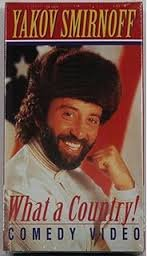 Yakov Smirnoff - What a Country! Comedy Video (VHS)