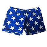Blue with White Stars Basic Shorts