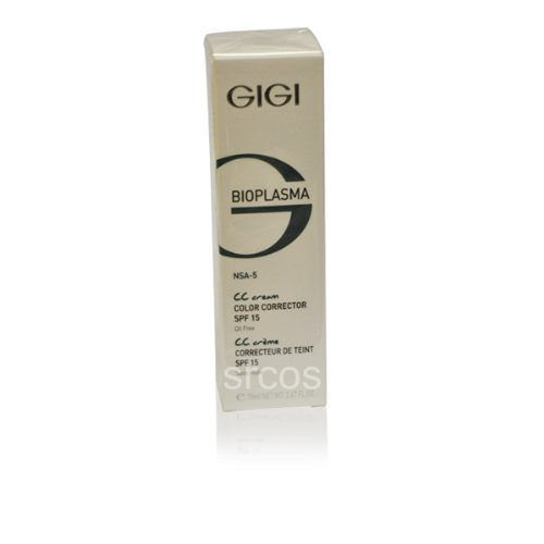GIGI Bioplazma Color Corrector Cream SPF 15 75ml 2.6fl.oz