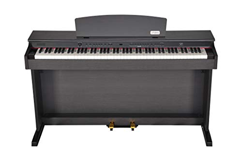 Artesia DP-2 Series 88 Weighted Keys Traditional Console Digital Piano with Matching Bench, Dark Rosewood