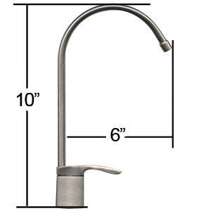 Designer Air Gap Ceramic Reverse Osmosis Faucet Chrome