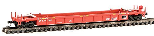 Walthers N Scale Thrall Stand-Alone 48' Well Car Canadian Pacific/CP Rail 524300 Canadian Pacific Cp Rail