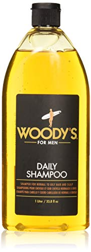 Woody's Daily Shampoo for Men, 33.8 - Daily Grooming Woodys Quality Shampoo