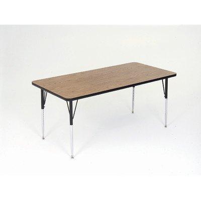 Correll Inc. 24 x 36in A2436REC06 Small Rectangular Standard Legs Activity Table