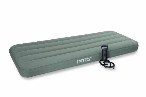 Intex Comfort Top TPU Junior Twin Airbed Kit, Outdoor Stuffs