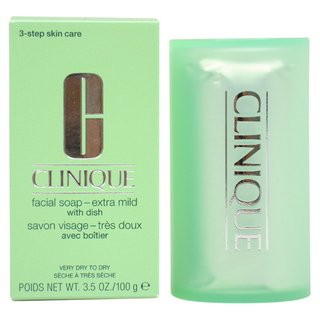 Clinique Facial Soap Extra Mild with Dish, 3.5 Ounce
