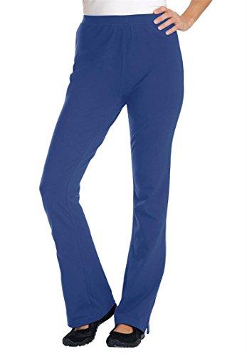 Plus Size Petite Knit Bootcut Yoga Pants