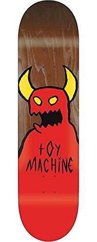 難しい銛アイデアTOY MACHINE(トイマシーン) スケートボード デッキ SKETCHY MONSTER BROWN D279br (8 x 31.625)