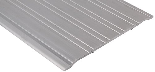 Mill Aluminum Saddle (Pemko Aluminum Fluted Saddle Threshold, Mill Finish, 6