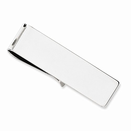 14k White Gold Money clip by viStar
