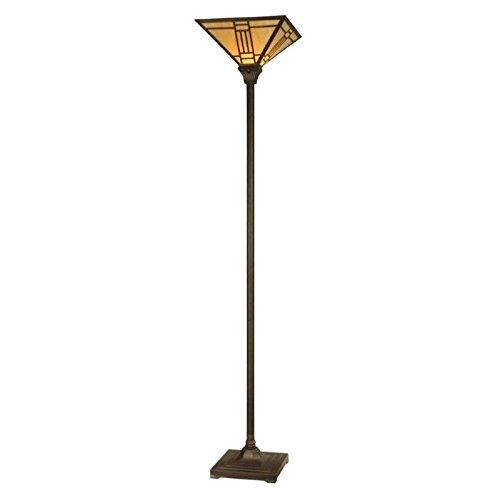 Torchiere Floor Mission Lamp (Dale Tiffany TR11062 Noir Mission Torchiere, 14