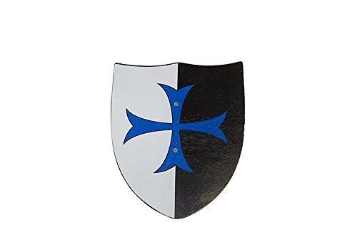 Juguetutto - Escudo cruz azul - Juguete de madera