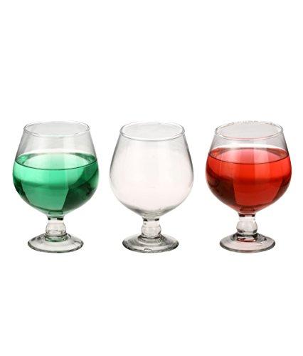 Somil Beverage Tumbler Multipurpose Clear Glass  Set of 3