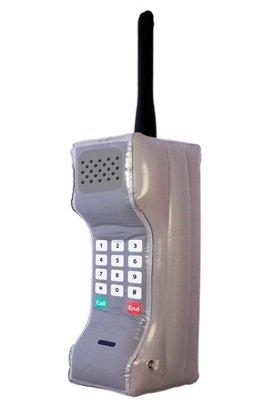 FoneM8 - Teléfono móvil hinchable, diseño de ladrillo de los ...
