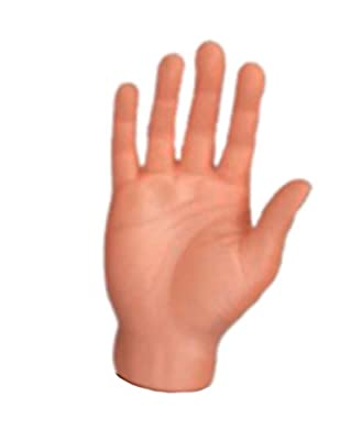 Set Of Five Finger Hands Finger Puppets from Accoutrements