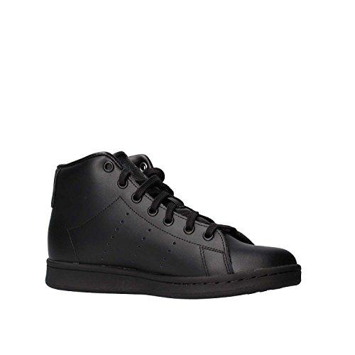 adidas Stan Smith Mid J, Zapatillas de Deporte Unisex Niños Negro (Negbas / Negbas / Negbas)