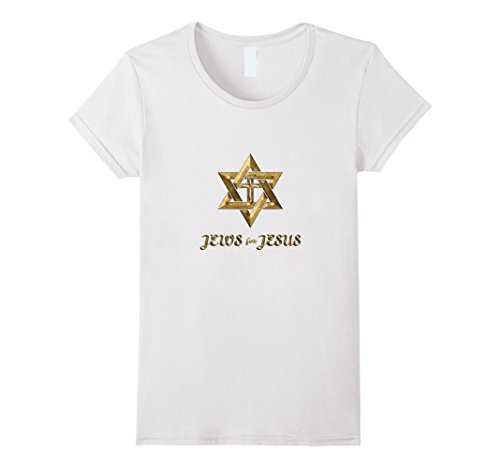 Womens Jews for Jesus Messianic Star of David Jewish T-Sh...