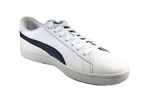 Puma Uomo Scarpe 5215 Blu V2 Man 44 Smash Bianco Sportive L Sneaker aqaw5HI