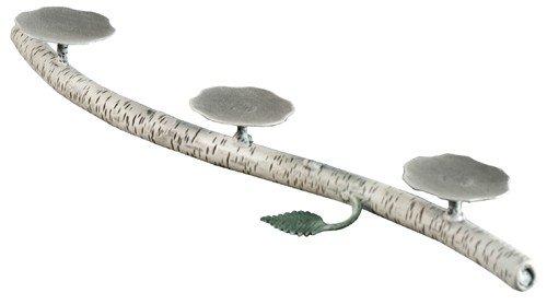Stone County Ironworks Whisper Creek Candleholder, Natural Black 207166-OG-142717-O-758622 O