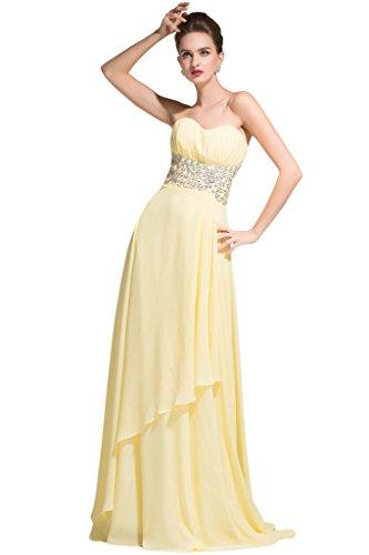 Sunvary - Vestido - para mujer lime green