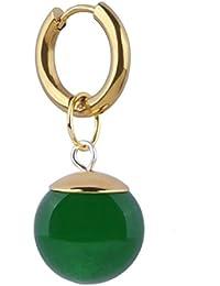 SSJ Dragon Ball Black Potalla Super Zomas Cosplay Earrings (Green One Pair)