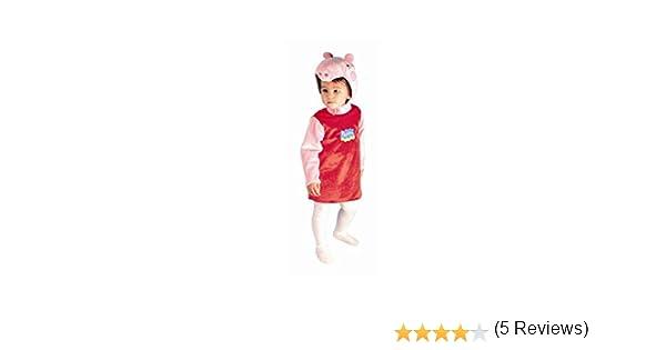 Peppa Pig - Disfraz, talla 1, 3/5 años (Josman): Amazon.es ...
