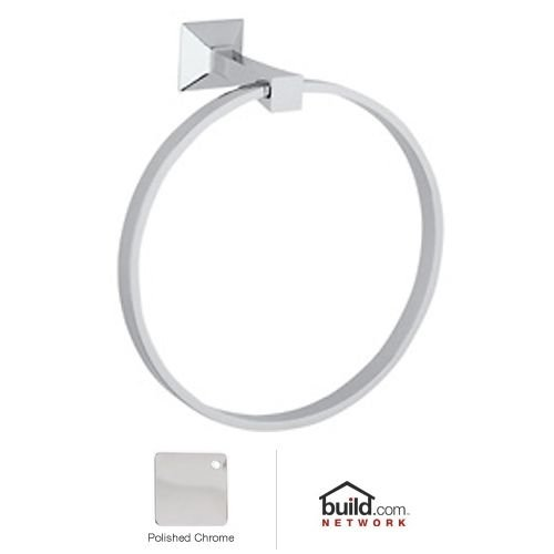 Rohl VIN4APC Vincent Bath Towel Ring, Polished Chrome by Rohl