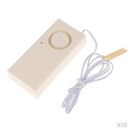 MagiDeal 10/30/50/100pcs Alarma de Sensor de Movimiento de Alta Sirena