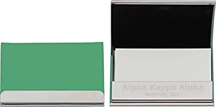 Amazon Alpha Kappa Alpha New Greek Laser Engraved Business