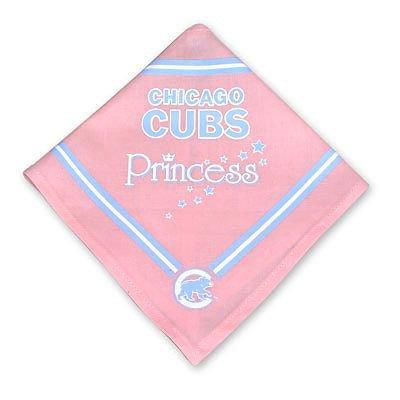 Sporty K9 MLB Chicago Cubs Pink Dog Bandana, Small ()