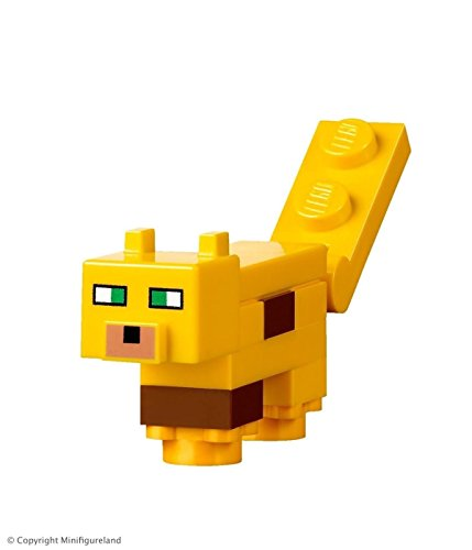 LEGO Minecraft MiniFigure - Ocelot Animal (From Sets 21125, 21132)