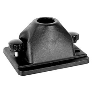RAM MOUNTS (RAM-114DTM Ram-Rod Deck and Track Flat Surface Base with for Spline Posts -