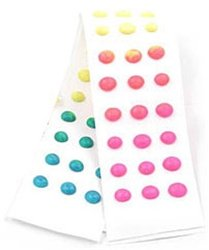 Candy Dots on Paper